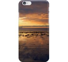 Sunrise on Long Sands Beach iPhone Case/Skin