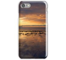 Sunrise on Long Sands Beach iPhone Case/Skin