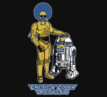 Not the droids you are looking for - 3 colour vector version by Octochimp Designs
