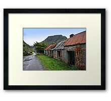 Abandoned Houses, Forgotten Lives Framed Print