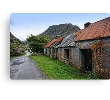 Abandoned Houses, Forgotten Lives Canvas Print