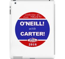 O'Neill - Carter for President iPad Case/Skin