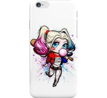 Crazy Bat Girl iPhone Case/Skin