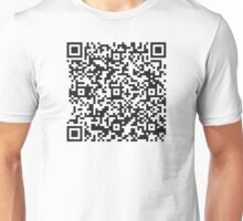 QR Code Quote - Technology is the knack Unisex T-Shirt