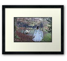 Angel of Christmas Framed Print