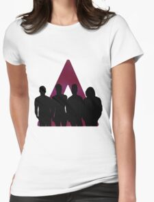 Bastille Triangle And Band Womens Fitted T-Shirt