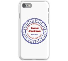 Daniel Jackson: A Man For the Times iPhone Case/Skin