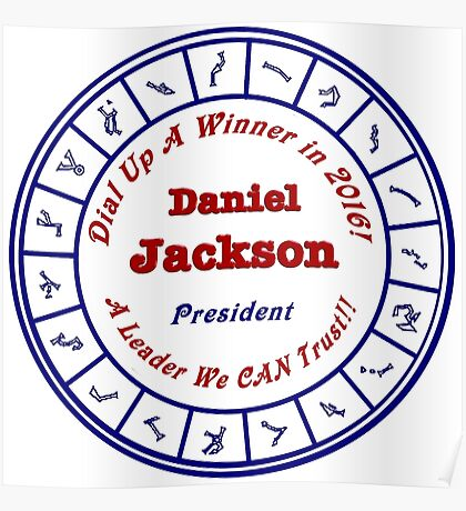 Daniel Jackson: A Man For the Times Poster