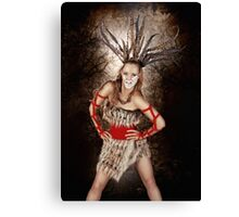 I Am The Warrior Canvas Print