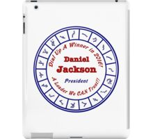 Daniel Jackson: A Man For the Times iPad Case/Skin