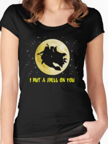 Hocus Pocus (I Put A Spell On You) Women's Fitted Scoop T-Shirt