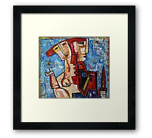 """Puzzle""  Framed Print"