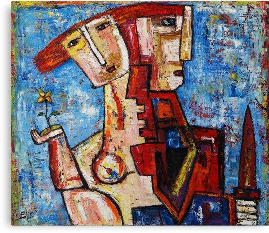 """""""Puzzle""""  by Elin Bogomolnik"""