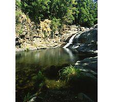 Cedar Creek Falls ∞ QLD, Australia Photographic Print