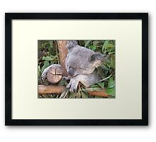 Entertaining Visitors is so Boring!! Framed Print