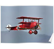 Fokker Triplane at Omaka Poster