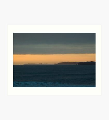 Headlands, Milford Haven, Wales Art Print