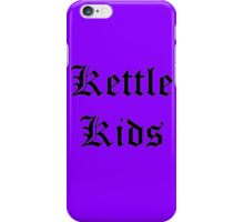 Kettle Kids Old English iPhone Case/Skin