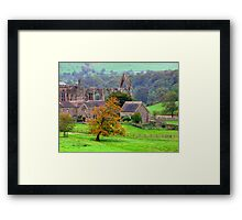 Bolton Abbey  - HDR Framed Print