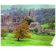 Bolton Abbey  - HDR Poster