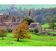 Bolton Abbey  - HDR Photographic Print