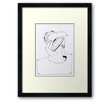 PDD - 2011/11/06 - Et ton oeil rivé à la lentille....  Framed Print