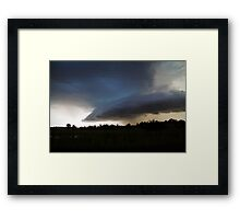 Nature's Fury Framed Print