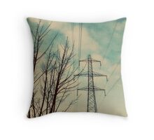 The National Grid Throw Pillow