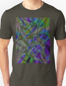 Colorful Abstract Stained Glass T-Shirt