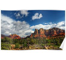 The Hills of Sedona  Poster