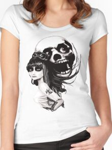 (¯`v´¯)`.¸.´Soul Mates.¸.` Women's Fitted Scoop T-Shirt