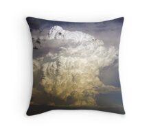 An explosive end - 1 Throw Pillow