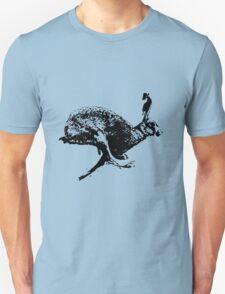 bounding hare white T-Shirt