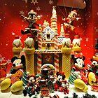 Window dressing for Christmas at Disneyland, Hong Kong. by Ralph de Zilva