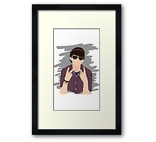 Kiingtong Fan Art Design Framed Print
