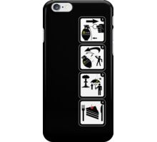 MX-1000 Thermal H-class tactical hand grenade iPhone Case/Skin