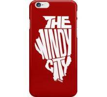 Chicago: The Windy City White iPhone Case/Skin