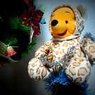 Christmas preparations...by Teddy yellow by mariatheresa