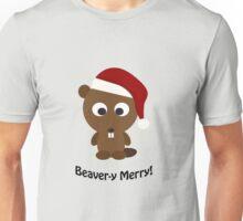Beaver-y Merry Unisex T-Shirt