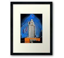 Corporate America Framed Print