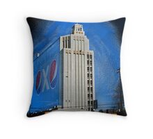 Corporate America Throw Pillow