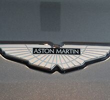 Aston Martin V12 Vantage Badge by redlineviper