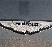 Aston Martin V12 Vantage Badge by redlineviper