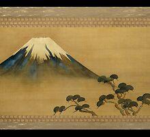 theview of mt fuji by atiya