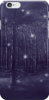 enchanted forest iPhone Case by Adriana Glackin