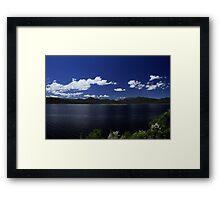 Lake Burbury Tasmania Framed Print