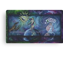 Tarot Associations of the British Isles Banner Canvas Print