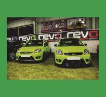Two Green Fiestas HDR Baby Tee