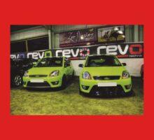 Two Green Fiestas HDR Kids Tee
