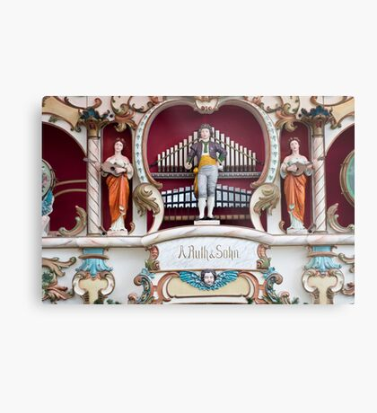 Fairground Organ Metal Print